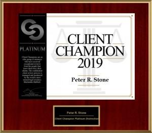 CLIENT CHAMPION 2019